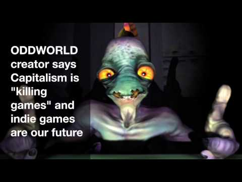 ODDWORLD Creator Says Capitalism Is Killing Games And Indie Games Are Our Future