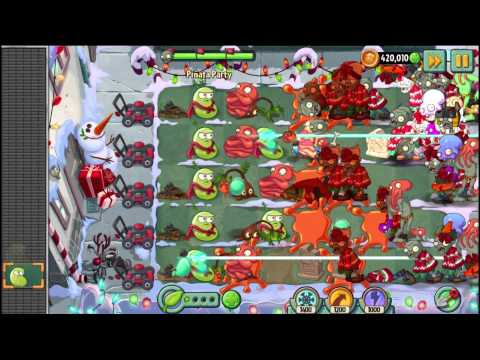 Plants vs Zombies 2 Feastivus Is Here! Holiday Surprises #6