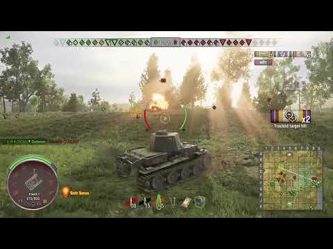 World of Tanks Xbox one VK 36.01 (H) 2 Kills