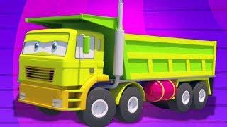 dump truk | formasi dan penggunaan | video untuk anak-anak | mainan bayi | kids Video | Dump Truck