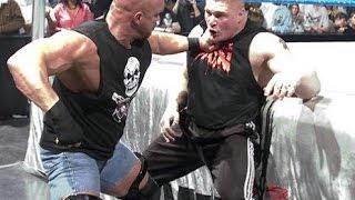 wrestlemania fight Brock Lesnar vs. Stone Cold 2016 Steve - Stone Cold vs Brock Lesnar Full match