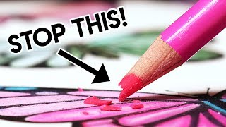 BIGGEST MISTAKES FOR BLENDING COLORED PENCILS