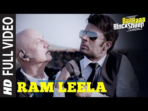 Ram Leela Full Video Song | Baa Baaa Black Sheep | Anupam Kher | Maniesh Paul | Manjari Fadnnis
