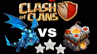 3 Star Attack On Th11 with 7 level 1 Electro Dragon COC