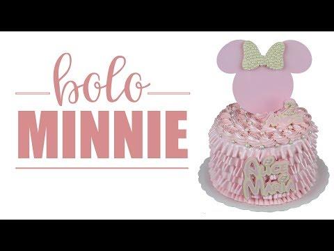 BOLO MINNIE   MINNIE'S CAKE