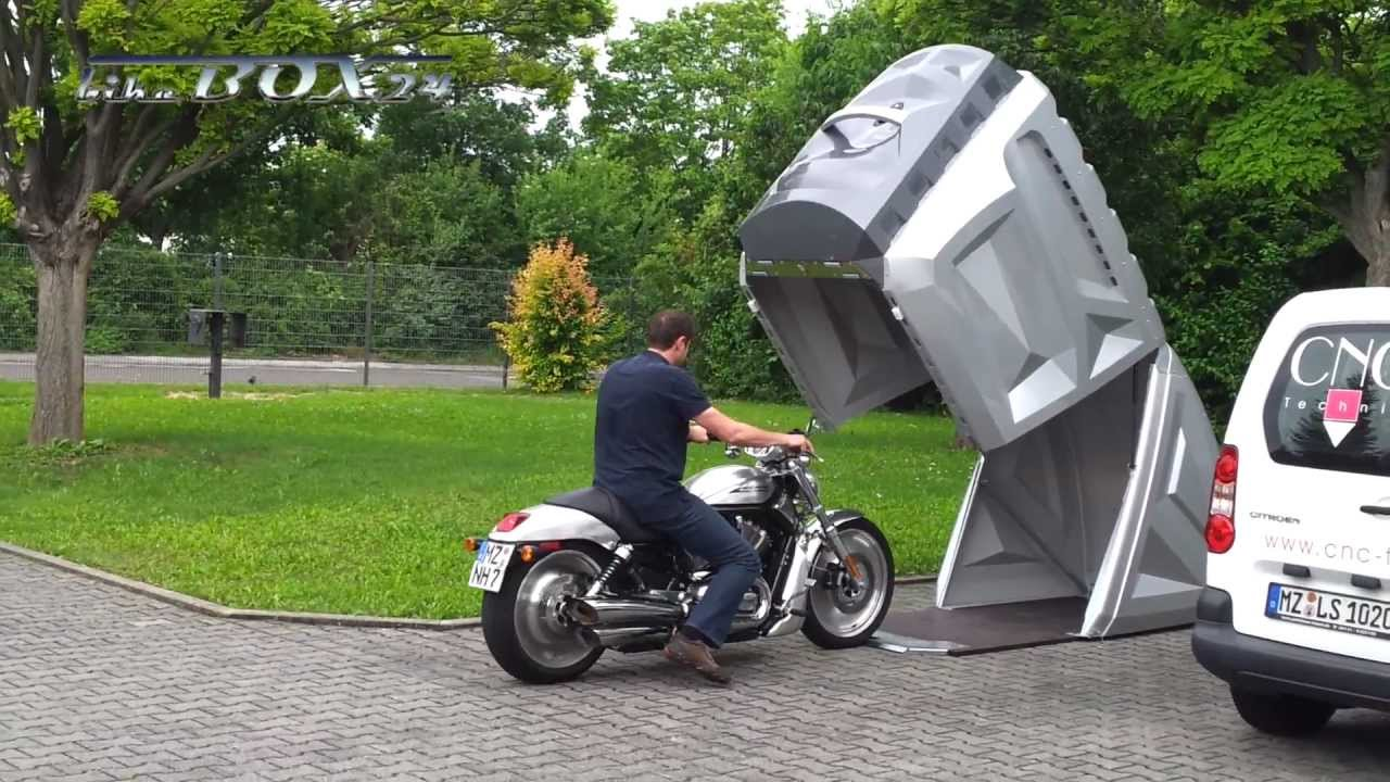 Weltneuheit Demonstration Der Neuen Bikebox24 Youtube