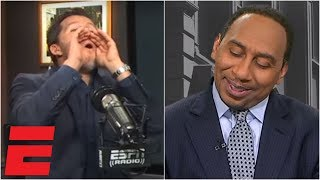 Will Cain can't stop mocking Stephen A. after Cowboys' win vs. Saints | ESPN Voices