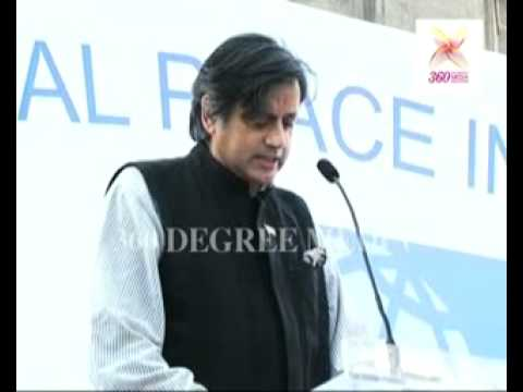 Shashi Tharoor Pays Tribute To Policemen & Citizens Of Mumbai, At The Global Peace Initiative video