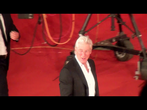 Richard Gere Time Out of Mind Rome Film Fest Red Carpet