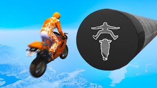 ATTEMPTING THE HARDEST BIKE STUNT EVER MADE! (GTA 5 Funny Moments)