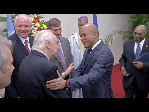 Haiti election deal sealed as UN team visits