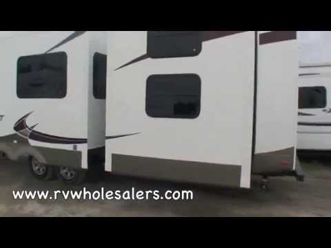 2012 Sandpiper 365SAQ Fifth Wheel Camper at RVWholesalers.com 026118 - Martini