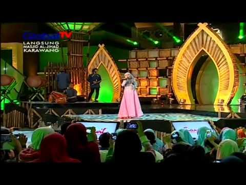 Fatin - Ramadhan Datang ( by tompi ) { @ kampung ramadan GlobalTV 20-06-2015 }