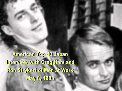Men at Work's Greg Ham and Ron Strykert on American Top 40 radio - 5/8/83