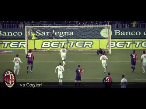 Mario Balotelli all GOALS in AC Milan 2012-13