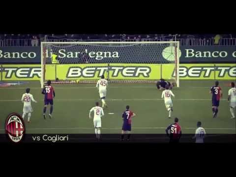 Mario Balotelli all GOALS in AC Milan 2012-13