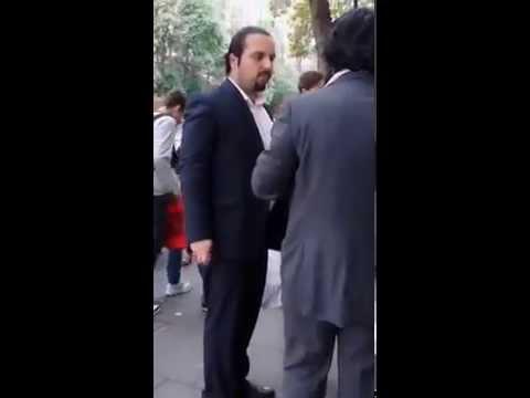Saad Hariri lookalike in London