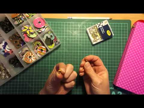 DIY Hitch fastening Closure for your albums *Tutorial*