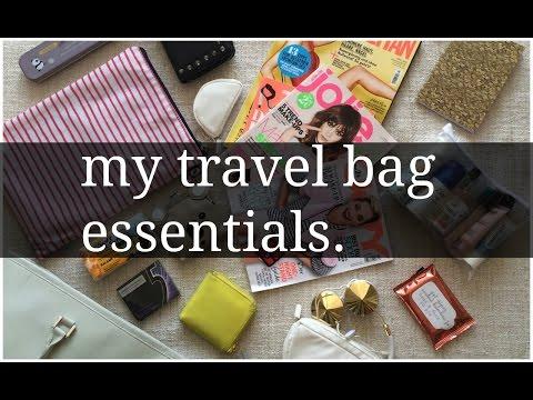 My Travel Bag Essentials