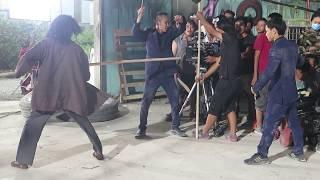 [Hậu trường phim] Nghệ sĩ lê Bình trong phim 79810