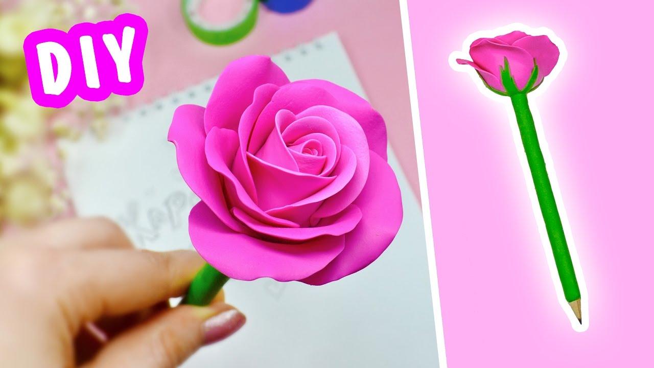 Как сделать розу барбоскину из бумаги