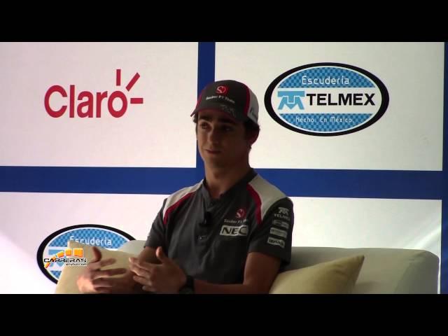 Conferencia en México de Esteban Gutiérrez - carreras en vivo