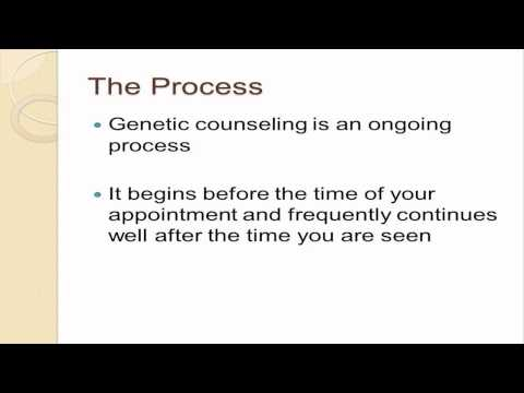 genetic counseling session Wendy r uhlmann, ms, cgc is the genetic counselor/clinic coordinator of the medical genetics clinic at the university of michigan she is a clinical instructor in the department of human genetics and an executive faculty member of the genetic counseling training program.