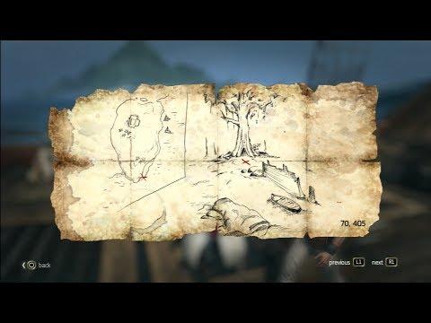 Assassins creed 4 Black flag treasure map Tulum 70.405 (7/22)