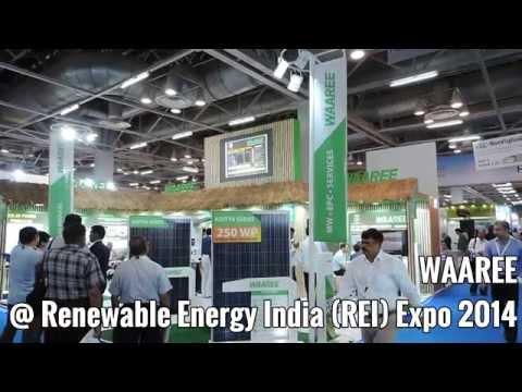 Waaree @Renewable Energy India (REI) Expo 2014