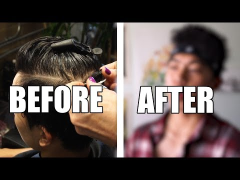 BEFORE & AFTER PERM!!!