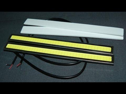Светодиодные дневные ходовые огни LED DRL (ДХО)