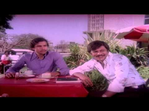 Premayana Movie Scenes - AnantNag meeting friend at restaurant & sharing his affair with Aarathi