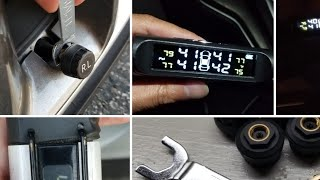 How to Install TPMS tire pressure Sensors!  Honda Accord and Clarity!