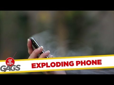 Exploding iPhone Prank