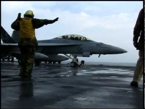 USS Dwight D. Eisenhower Carrier Ops - F/A-18 | AiirSource
