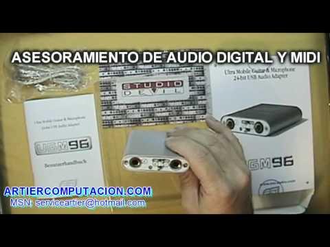 UGM96 DE ESI PLACA DE AUDIO SUPER PORTATIL USB EN ARTIER
