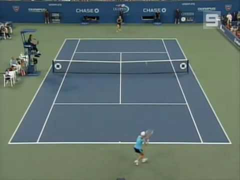 Maria Sharapova vs Justine Henin 2006 US Open