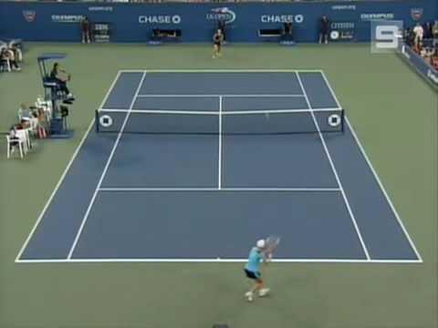 Maria Sharapova vs Justine Henin 2006 US Open