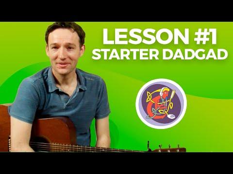 DADGAD Irish Guitar Accompaniment: Lesson 1 with MJ McMahon From OAIM.IE Tutorials