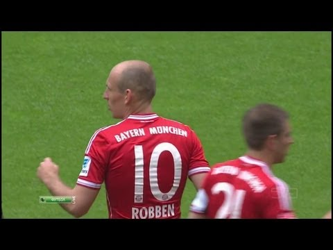 Arjen Robben vs Augsburg 12-13 (H) HD 720p by i7comps