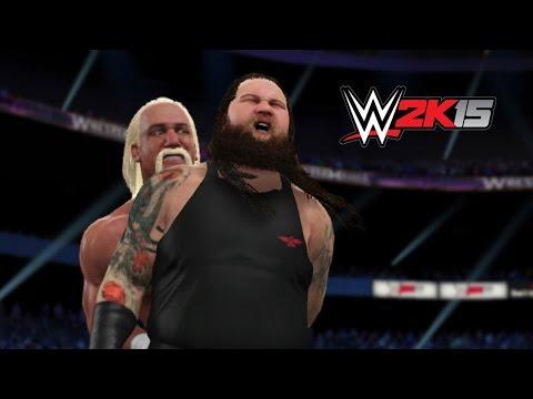 Next Gen Wwe 2k15 Fantasy Showdown - Hulk Hogan Vs. Bray Wyatt video