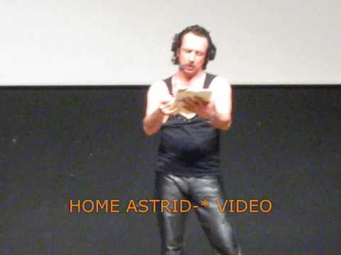CLAUDIO BATTA from ZELIG * teatro Fellini 11th.5.09 (Astrid-*)
