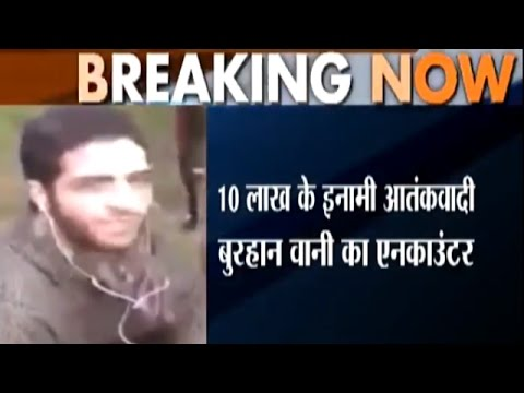 After Burhan Wani's Brutal Encounter, Curfew Imposed in Pulwama, Anantnag and Shopia