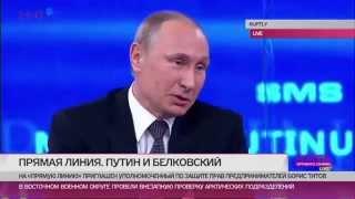 Путин о народном мемориале Немцову. Вопрос Венедиктова - (видео)