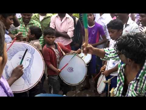 Tamil band performance by a school boy