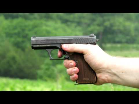 Shooting the H&K P7 PSP