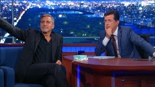 George Clooney Introduces His New Film