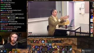 """Asmongold Reacts to """"Jordan Peterson: Are video games like World of Warcraft bad for you?"""""""