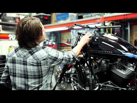 RSD Harley Davidson Blackline Build