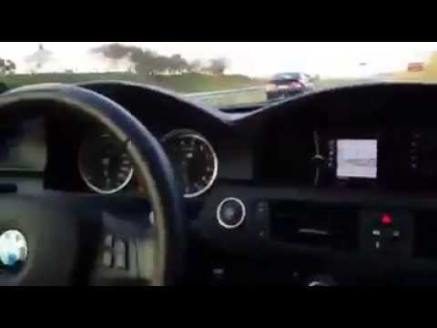 BMW leva coro de Honda Civic SI a mais de 300km/h